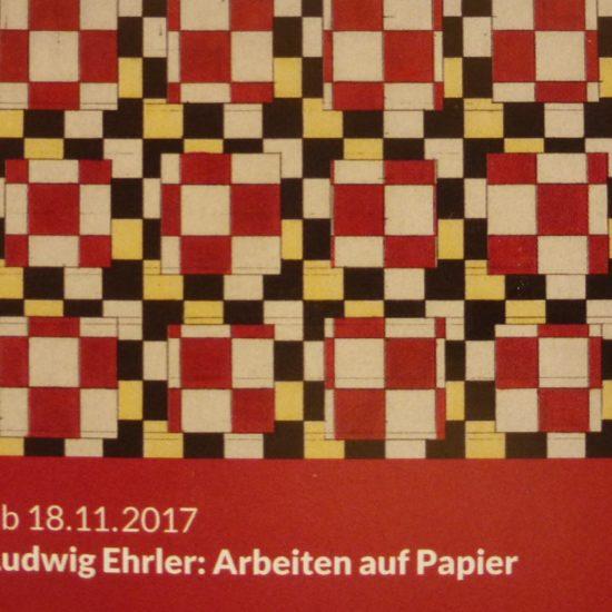 """12/2017: Ludwig Ehrler """"Raster – Verschiebungen"""""""