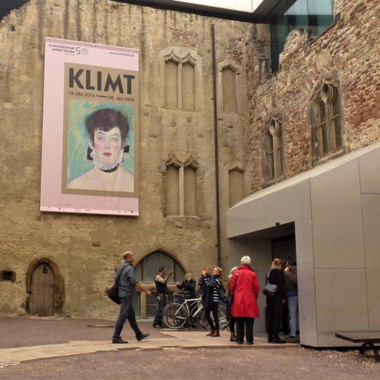 Beitrag 2018/10: Wolfgang Büche – Gespräch zur Klimt-Schau